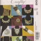 McCalls M6048 Necklaces, Bracelets and Pins - Make it Crafty