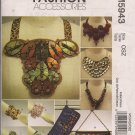 McCalls M5943 Clutch, Cuffs, and Necklaces - Fashion Accessories