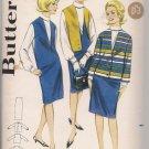Butterick 3183 Vintage Misses Jumper/Dress, blouse, Vest Sz. 14