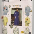 Simplicity 9853 - Misses Decorate A Robe - sizes XSmall, Small and Medium