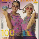 idee & filati No. 34 Italian Spring/Summer Knitting & Crochet Magazine w/ English Text Supplement