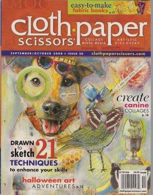 Cloth Paper Scissors September/October 2008 Issue 20