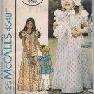 Laura Ashley McCalls 4548 Girls Dress, Bonnet, Purse - Size 5 Out of Print