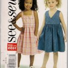 Girls Sundress - Very Easy Sew & Sew B4765 Sz. 4-6
