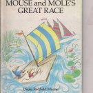 Mouse & Mole's Great Race - Vintage 1982 Weekly Reader Childrens Book