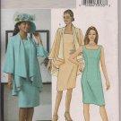 Butterick B4387 Womans Jacket & Dress - Sz. 16, 18, 20, 22