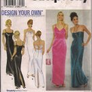 Simplicity 9124 Misses Gown, Prom Dress - Sz. 6, 8, 10, 12