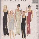 McCalls 8684  Mises Evening, Cocktail, Party Dress -Sz. 14, 16, 18
