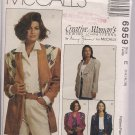 McCall Creative Woman's Pattern 6959 Misses Jacket Sz. 14, 16, 18