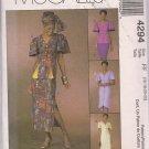 McCalls Dress Alternative 4294 Misses Dress, Skirt, Top Sz. 16-22 Petitable