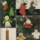 Vogue 8752 Craft Pattern for Christmas Ornaments, Stockings - Our of Print