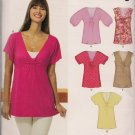 New Look 6810  Misses Top or Tunic Size 10 Only Summer Tops