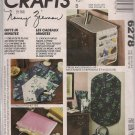 Out of Print McCalls Crafts 6278 Gifts in Minutes-tote, Casserole Holder, and more