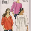Very Easy Vogue Misses Casual Tops - V8518 - Size 8 Only