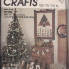 McCall's Crafts 3279 - Christmas Patterns - Wall Hanging, Tree Skrit, Ornaments and More