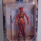 Raavia (red tiger) action figure - mint-on-card, no flaws