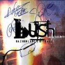 Bush in-person autographed Razorblade Suitcase LP Flat