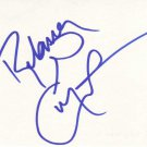 Rebecca Gayheart Autographed Index Card