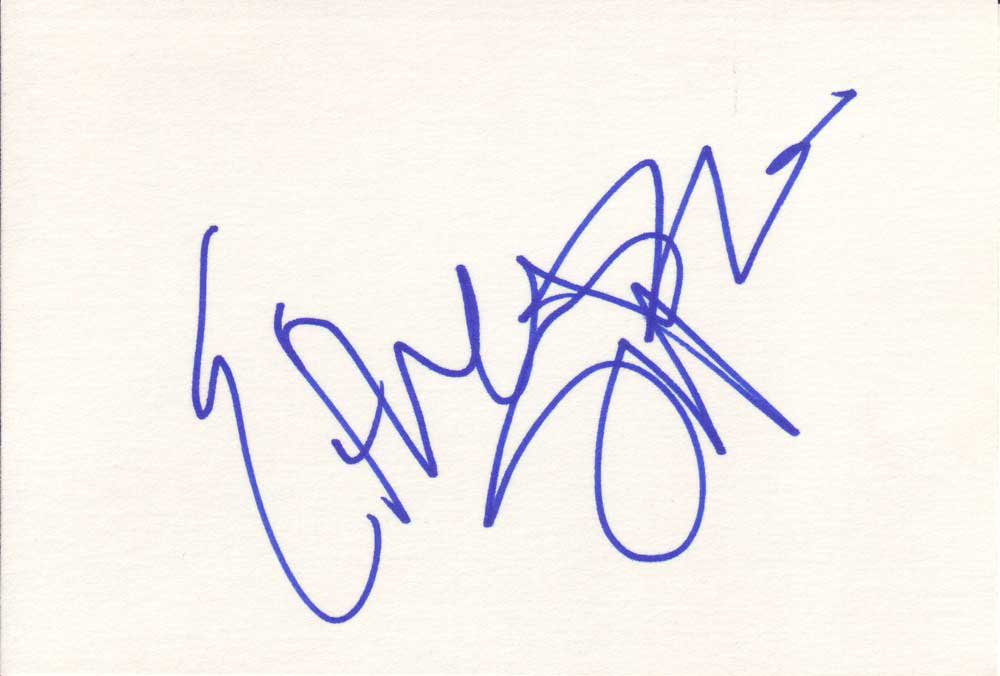 Ethan Suplee Autographed Index Card
