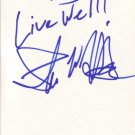 Shawn Hatosy Autographed Index Card