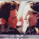 The X-men 2 in-person autographed cast photo