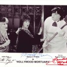 Hollywood Morturary In-person autographed Cast photo