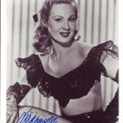 Virginia Mayo In-person autographed photo