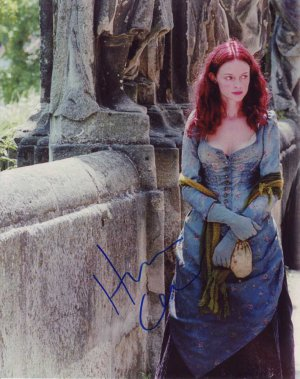 Heather Graham in-person autographed photo