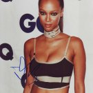 Tyra Banks in-person autographed photo