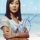 Yunjin Kim in-person autographed photo