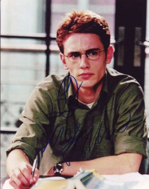 James Franco in-person autographed photo