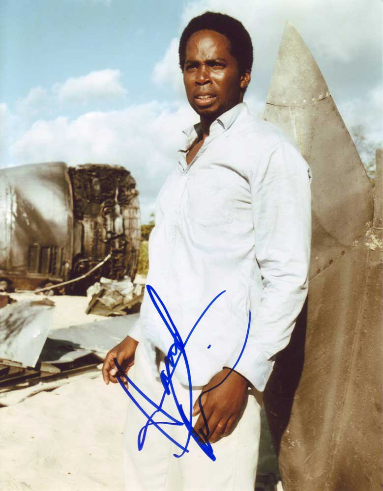 Harold Perrineau Jr. in-person autographed photo
