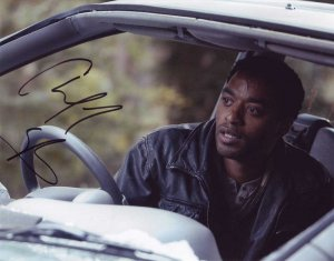 Chiwetel Ejiofor in-person autographed photo