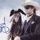 The Lone Ranger In-person autographed Cast Photo