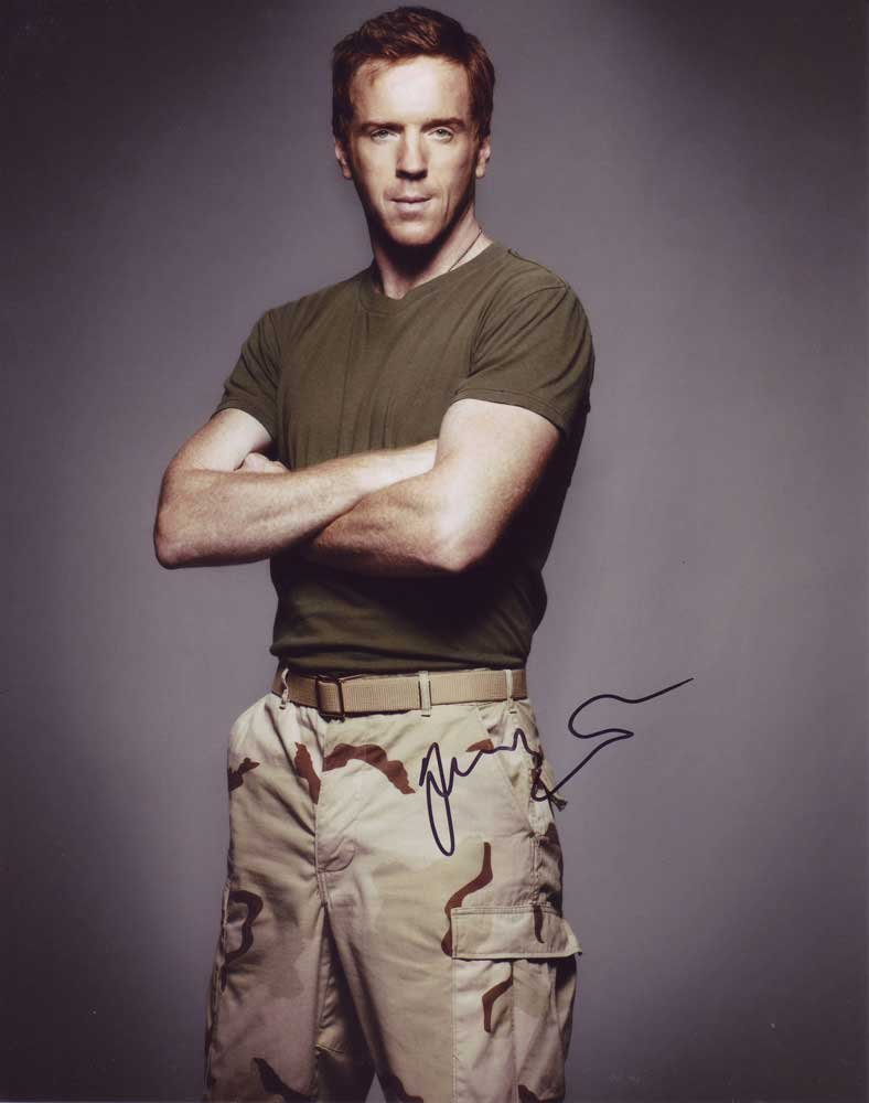 Damian Lewis In-person Autographed Photo