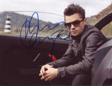 Dominic Cooper in-person autographed photo