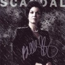 Bellamy Young in-person autographed photo Scandal
