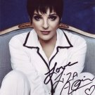 Liza Minnelli in-person autographed photo
