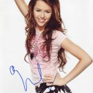 Miley Cyrus in-person autographed photo