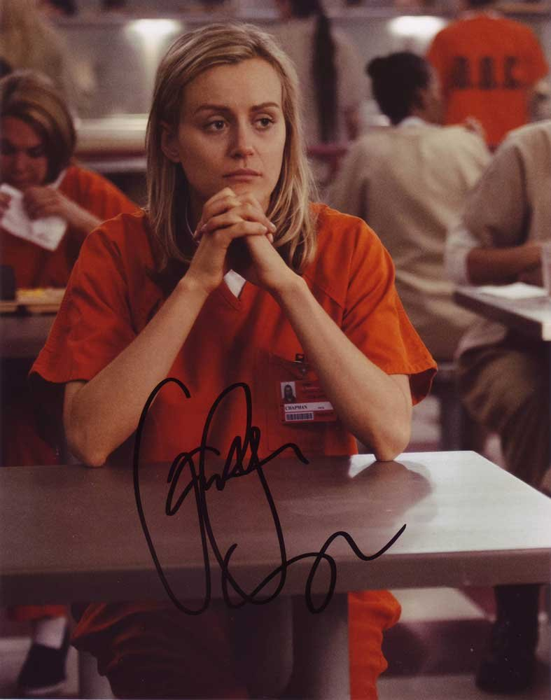 Taylor Schilling in-person autographed photo