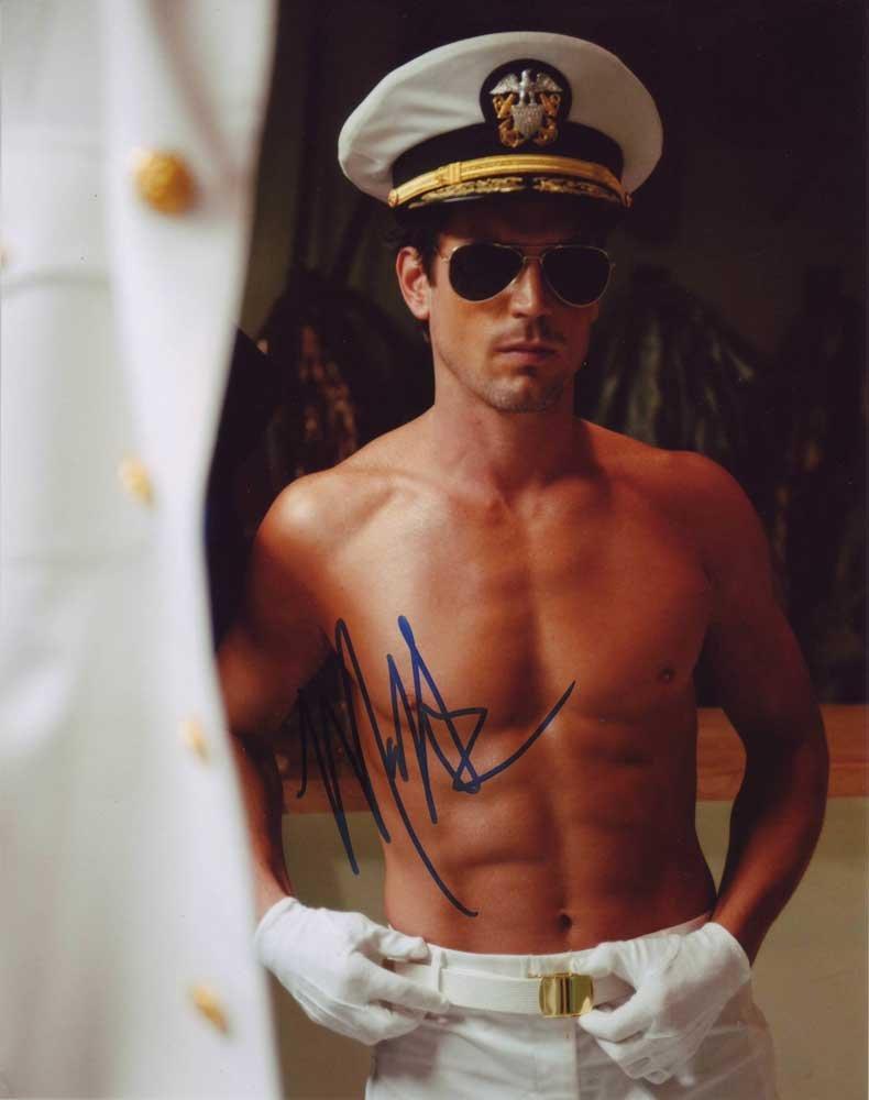 Matt Bomer in-person autographed photo