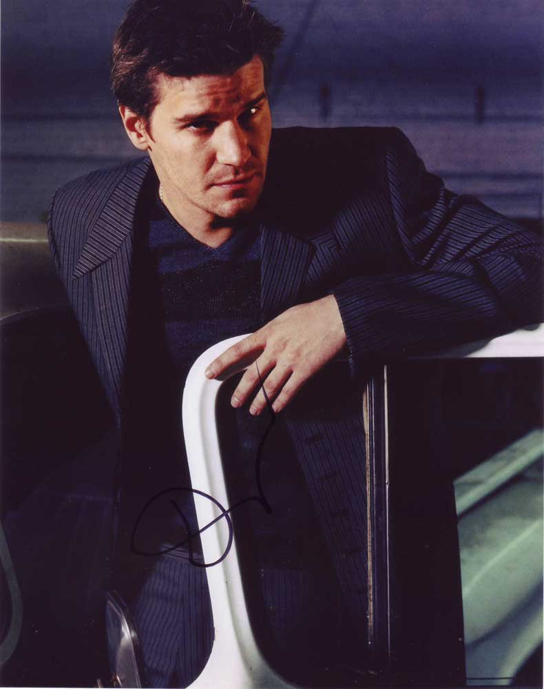 David Boreanaz in-person autographed photo