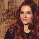 Darby Stanchfield in-person autographed photo