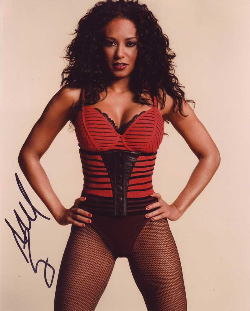 Mel B In-person Autographed Photo