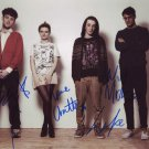 Clean Bandit in-person autographed photo