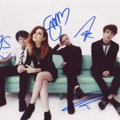 Echosmith in-person autographed photo