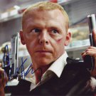 Simon Pegg in-person autographed photo