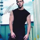 Nick Jonas in-person autographed photo