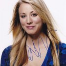 Kaley Cuoco in-person autographed photo