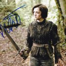 Maisie Williams in-person autographed photo